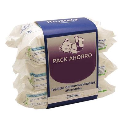 Mustela Mustela Toallitas Pack Ahorro 4X70 Unidades 200 g